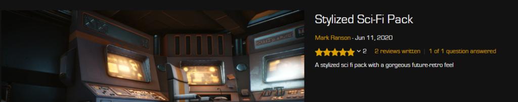 Sci-Fi Pack Unreal